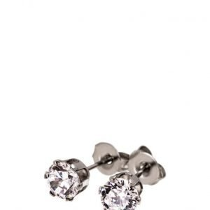 Edblad Crown Studs Steel korvakorut