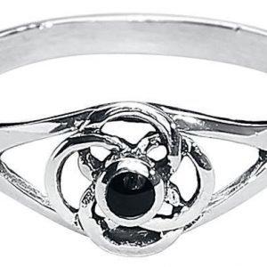 Etnox Fine Silver Circles Sormus