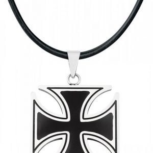 Etnox Hard And Heavy Black Iron Cross Riipus