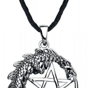 Etnox Magic And Mystic Pentagram Dragon Kaulakoru