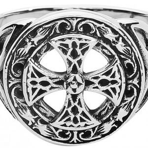 Etnox Magic And Mystic Silver Celtic Cross Sormus
