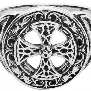 Etnox Magic And Mystic Silver Celtic Cross Sormus