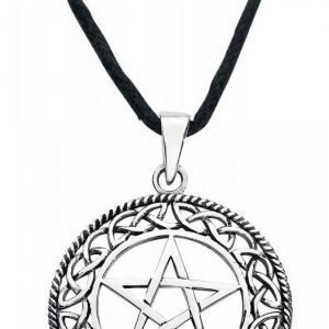Etnox Magic And Mystic Silver Pentagram Kaulakoru
