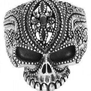 Etnox Premium Tattooed Skull Sormus