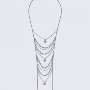 Gina Tricot Bead Ladder Necklace Kaulakoru