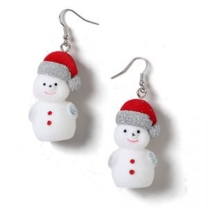 Gina Tricot Christmas Snowman Earrings Korvakorut