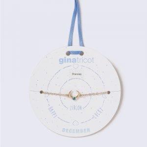 Gina Tricot Gold Look December Blue Birthstone Wristwear Rannekoru