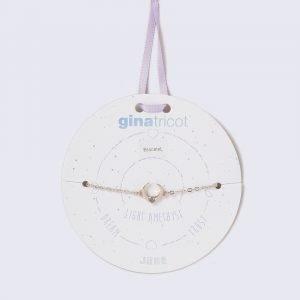 Gina Tricot Rose Gold Look June Lilac Birthstone Wristwear Rannekoru