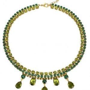 Golden Style Kaulakoru Vihreä