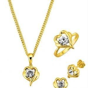 Golden Style Korusetti 3-Osainen Keltainen