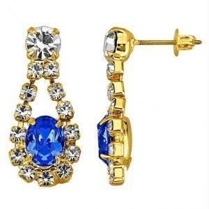 Golden Style Korvakorut Sininen