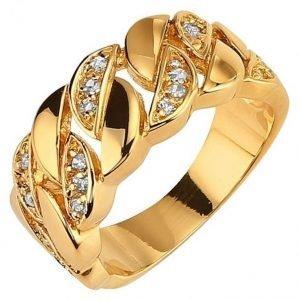 Golden Style Naisten Sormus Kulta Met.