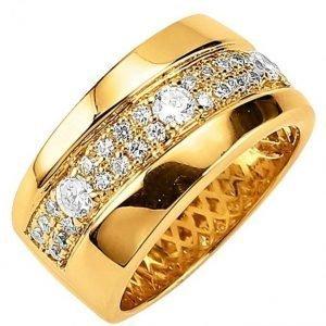 Golden Style Naisten Sormus Valkoinen