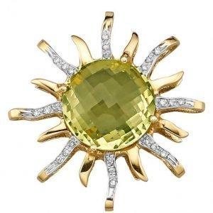 Goldstadt Jubiläum Aurinkoriipus Keltainen