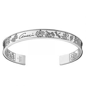 Gucci Flora Rannekoru 18 Sterling Silver