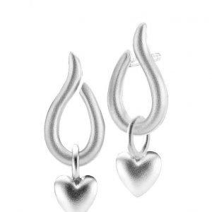 Izabel Camille Swan/Souldheart Earrings korvakorut