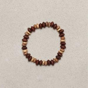 Jack & Jones Jacchris Bracelet Rannekoru Ruskea