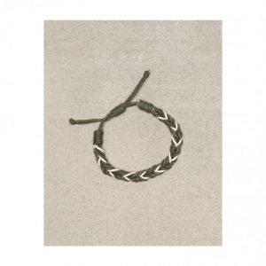 Jack & Jones Jacross Bracelet Rannekoru Tummanharmaa