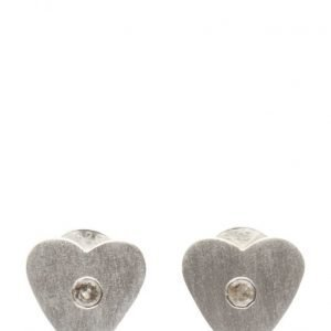 Jewlscph Earrings Simple Heart korvakorut