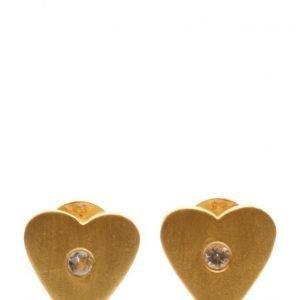 Jewlscph Earrings Simple Heart korvakorut