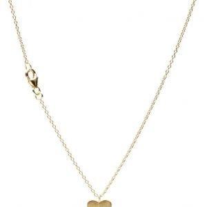 Jewlscph Necklace Simple Heart kaulakoru
