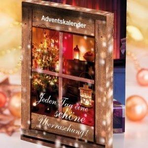 Joulukalenteri Monivärinen
