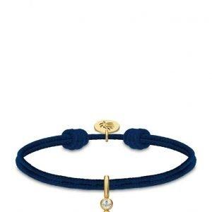Julie Sandlau Charity Bracelet Navy Gold rannekoru