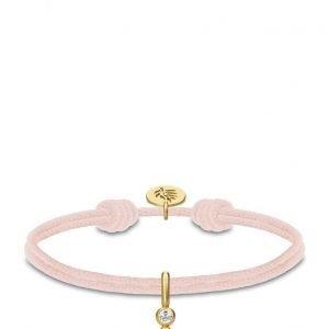Julie Sandlau Charity Bracelet Rose Gold rannekoru