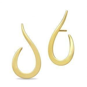Julie Sandlau Classic Swan Earring Gold korvakorut