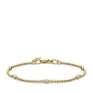 Julie Sandlau Finesse Bracelet Gold rannekoru