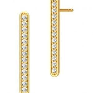 Julie Sandlau Linea Earring Gold korvakorut
