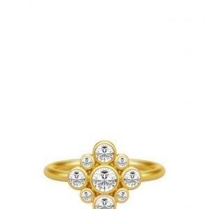 Julie Sandlau Peony Ring 52 Gold sormus
