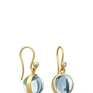 Julie Sandlau Prime Earring Gold/Ice Blue korvakorut