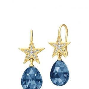 Julie Sandlau Stella Briolette Earring Gold korvakorut