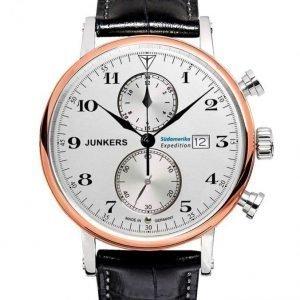 Junkers Miesten Kronografi Musta