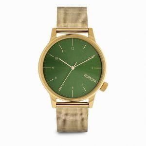 Komono Winston Royal Kello Gold Green
