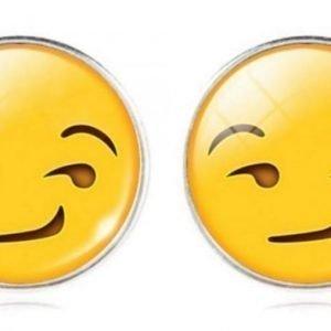 Korvakorut Emoij Smirkling Face