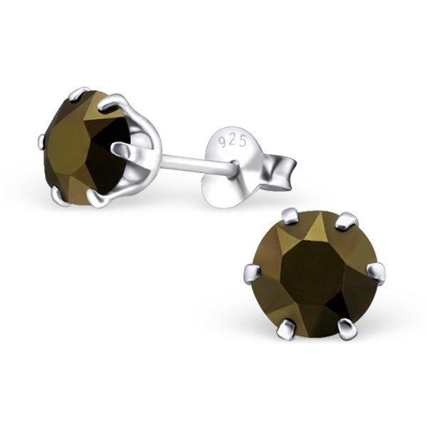 LA Crystale korvakorut m Swarovski kristaller