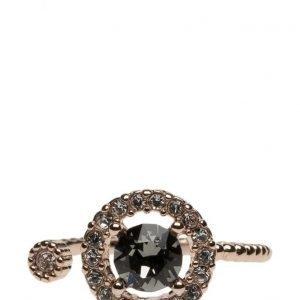 LILY AND ROSE Miranda Ring Black Diamond sormus