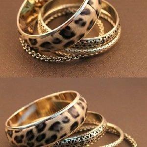 Leopardirannekorusetti