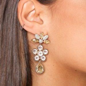Lily And Rose Aurora Earrings Korvakorut Golden