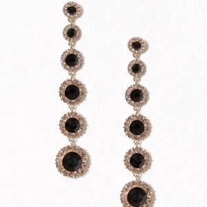Lily And Rose Celeste Earrings Korvakorut Jet Black