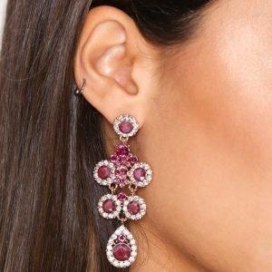 Lily And Rose Kate Earrings Korvakorut Pink