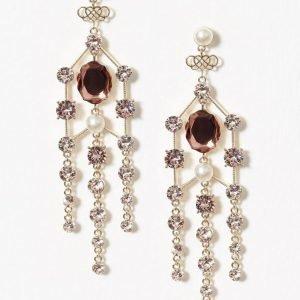 Lily And Rose Rosie Earrings Korvakorut Pink Champange