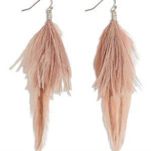 Lindex Höyhenkorvakorut Vaaleanpunainen