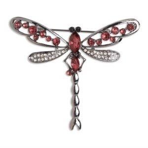 Lindex Sudenkorennon Muotoinen Rintakoru Vaaleanpunainen