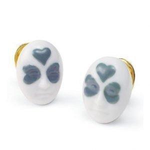 Lladro Earrings Clover Face Korvakorut
