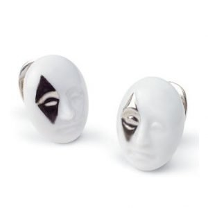 Lladro Earrings Diamond Face Korvakorut