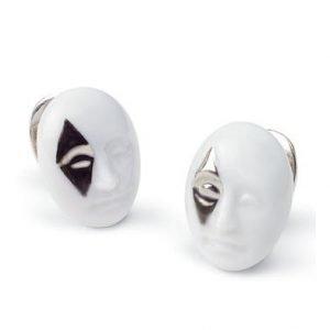 Lladro Earrings Diamond Face Korvakorut
