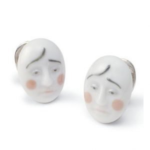 Lladro Earrings Smart Clown Korvakorut
